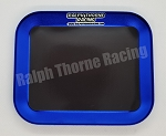 Blue Aluminum Parts Tray With Magnet