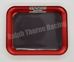 Red Aluminum Parts Tray With Magnet