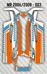 Mossetti MR 2006 & 2008 003 Chassis Skin Pack Of 2