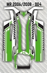 Mossetti MR 2006 & 2008 004 Chassis Skin Pack Of 2