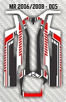 Mossetti MR 2006 & 2008 005 Chassis Skin Pack Of 2