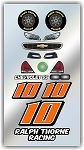 #10 Chevy Decal