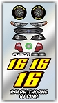 #16 Ford Decal Kit