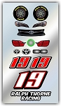 #19 Toyota Decal Kit