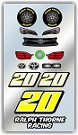 #20 Toyota Decal Kit