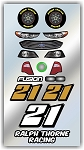 #21 Ford Decal Kit