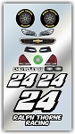 #24 Chevy Decal Kit