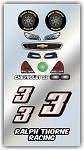 #3 Chevy Decal
