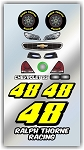 #48 Chevy Decal Kit