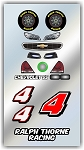 #4 Chevy Decal