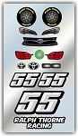 #55 Toyota Decal Kit