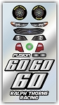 #60 Ford Decal Kit