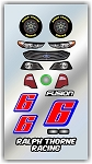 #6 Ford Decal Kit