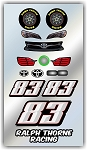 #83 Toyota Decal Kit