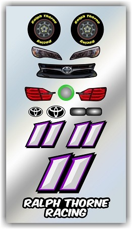 #11 Toyota Decal Kit