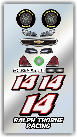 #14 Chevy Decal Kit