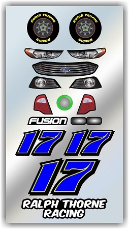 #17 Ford Decal Kit