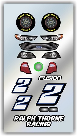 #2 Ford Decal Kit