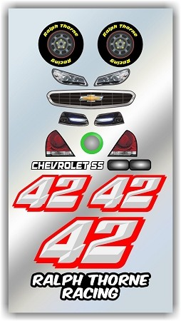 #42 Chevy Decal Kit