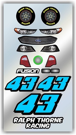 #43 Ford Decal Kit