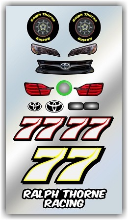 #77 Toyota Decal Kit
