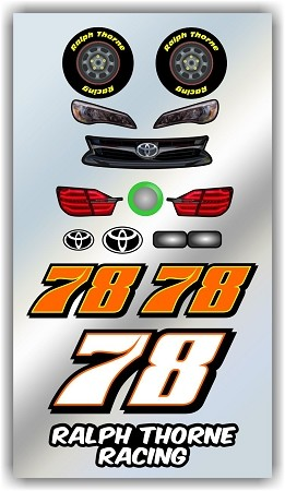 #78 Toyota Decal Kit