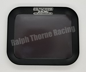 Black Aluminum Parts Tray With Magnet