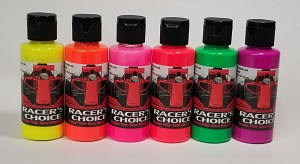 Fluorescent Color Set  Bottles